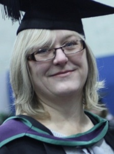 Graduation - with an MA in Creative Writing