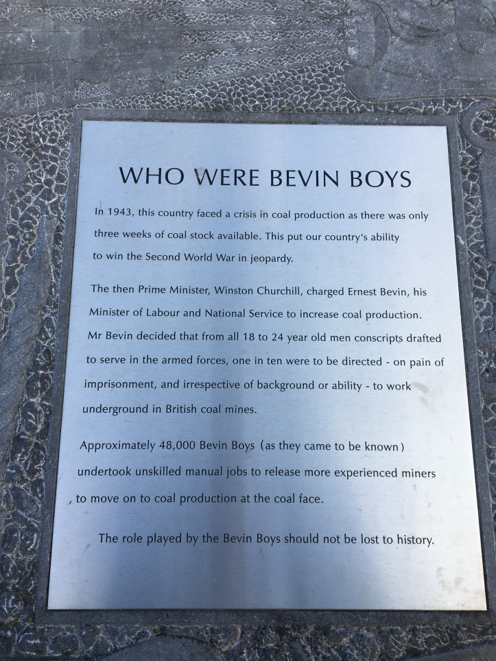 Memorial to the Bevin Boys (2)